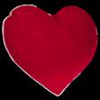 Декоративна подушка «Серце»