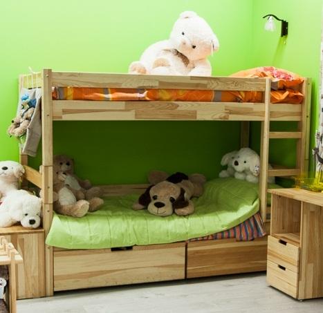 Двоярусне ліжко «Jean», 90х200