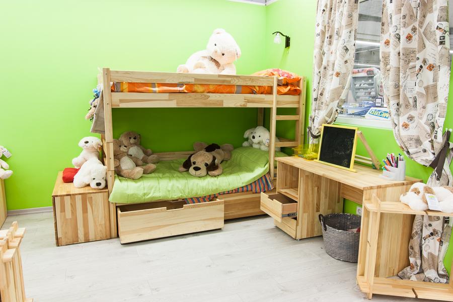 Двоярусне ліжко Jean