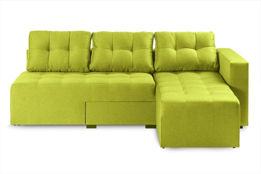 Ортопедичний кутовий диван «Джордан», Q lime