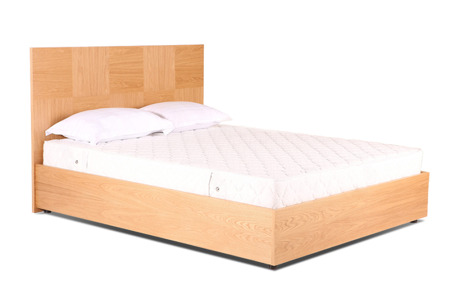 Ліжко «Агнес», 140х200 см, дуб
