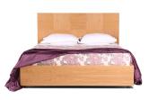 Кровать «Агнес», 140х200 см, дуб