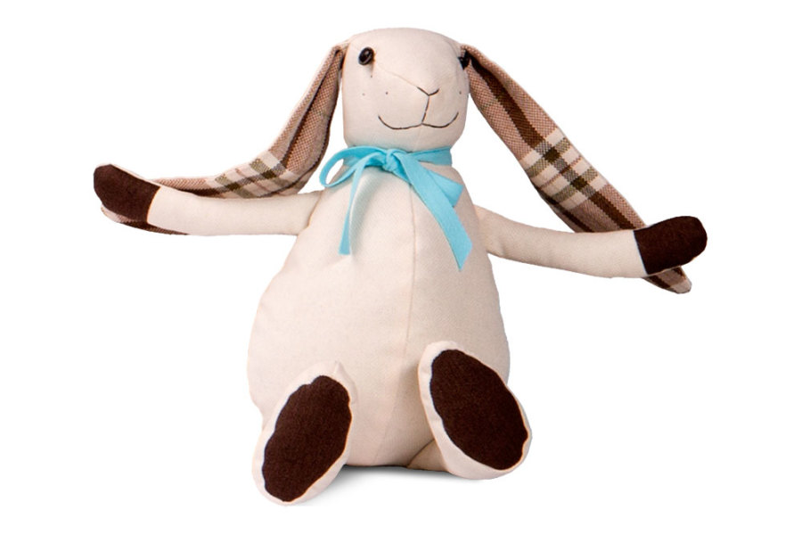 Ортопедична подушка-іграшка Венето «Кролик», 54x64x40