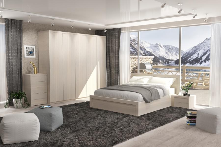 Спальний гарнітур «Джолі». Ліжко з дерева «Джолі»