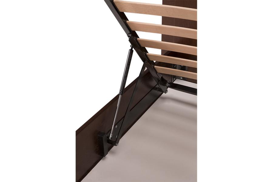Ліжко «Евелін» (підйомний механізм), темний горіх