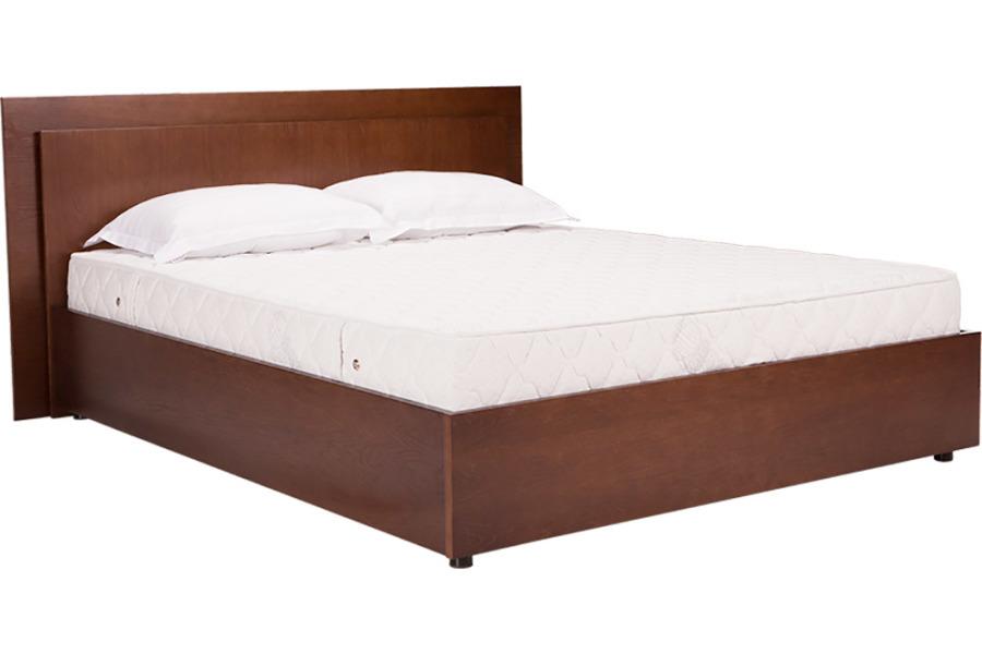 Ліжко «Евелін» (підйомний механізм), 160х200 см, темний горіх