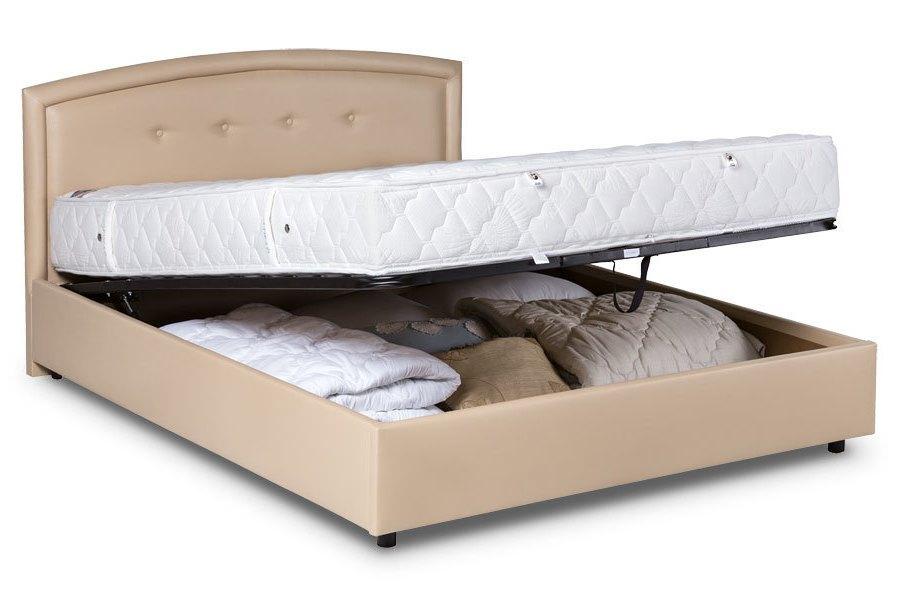 Ліжко з підйомним механізмом Сом'є М2, 160х200 см, ТАНГО 1115 - Виготовлення замовлення 72 години