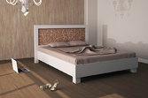 Кровать из дерева «Марго», 160х200 (190) см, светлая