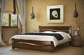 Кровать из дерева «София», 160х200 (190) см, светлая
