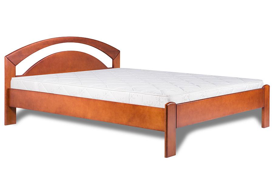 Ліжко з дерева «Христина», 120х200 (190) см, темна