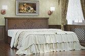 Кровать из дерева «Эстер», 160х200 (190) см, темная