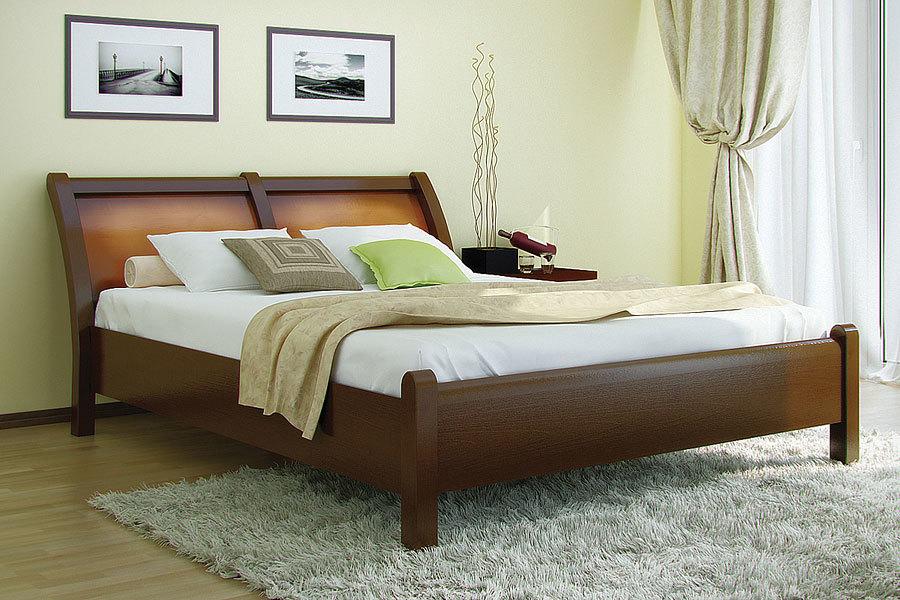 Ліжко з дерева «Лаура»