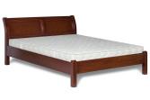 Ліжко з дерева «Лаура», 120х200 (190) см, темне